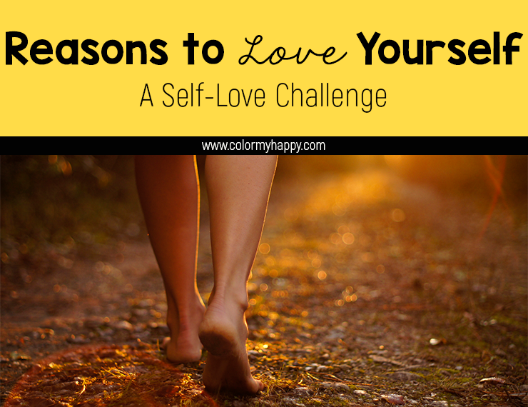 Sometimes it's hard to find reasons to love yourself. We can think of what we're lacking, but things we're proud of? Not so much. It's time to make self-love a priority. Here are some tips to creating a list of things you love about YOU. Download the free printable to take this self-love challenge today.
