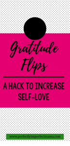 When we feel gratitude, it's hard to think negatively. It turns what we have into something amazing. So it only makes sense that in order to get rid of hurtful, unkind, bitter thoughts, we have to feel gratitude instead.