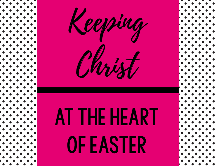 It can be tough to balance the Easter eggs, bunny crafts, and candy with the true meaning of Easter: Christ. But if we're deliberate, we can teach our kids the true meaning of the holiday and place an emphasis on Christ while still participating in the more commercial parts of the holiday.