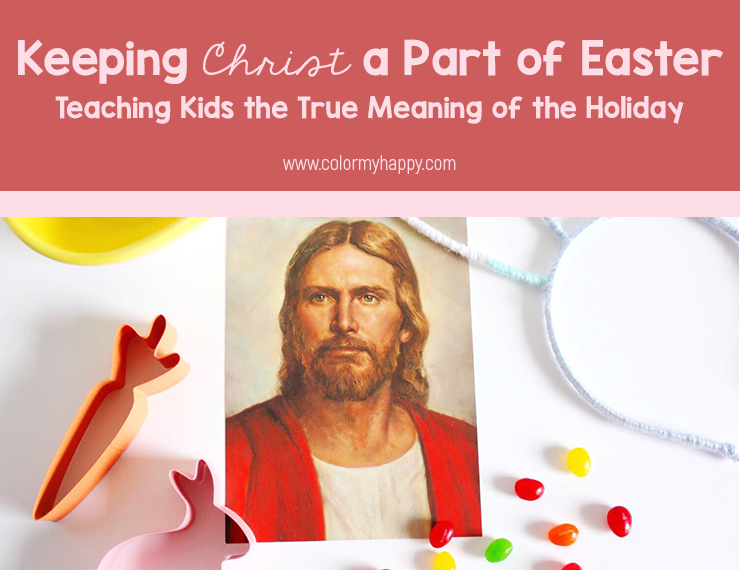 It can be tough to keep Christ a part of Easter with all the egg hunts, bunny crafts, and candy distracting us. But if we're deliberate, we can place an emphasis on Christ while still participating in the more commercial parts of the holiday. Here are some tips for keeping Christ a part of Easter and teaching kids the true meaning of Easter Sunday.