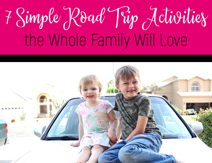 With summer comes road trips, but sometimesthe last thing you want is to be stuck in a car with your kids for hours on end. I get it. It's hard! But here are 7 simple activities to do in the car that will help make road trips a fun bonding experience for the whole family.