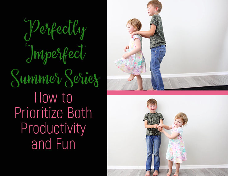 Summer is supposed to be filled with fun, but it's also a good idea to keep kids productive during those off-school months. To keep my kids learning and growing, there are just a few daily activities I encourage. Read on to see what they are and how we manage to fit them in while still leaving the bulk of their time for fun and play.