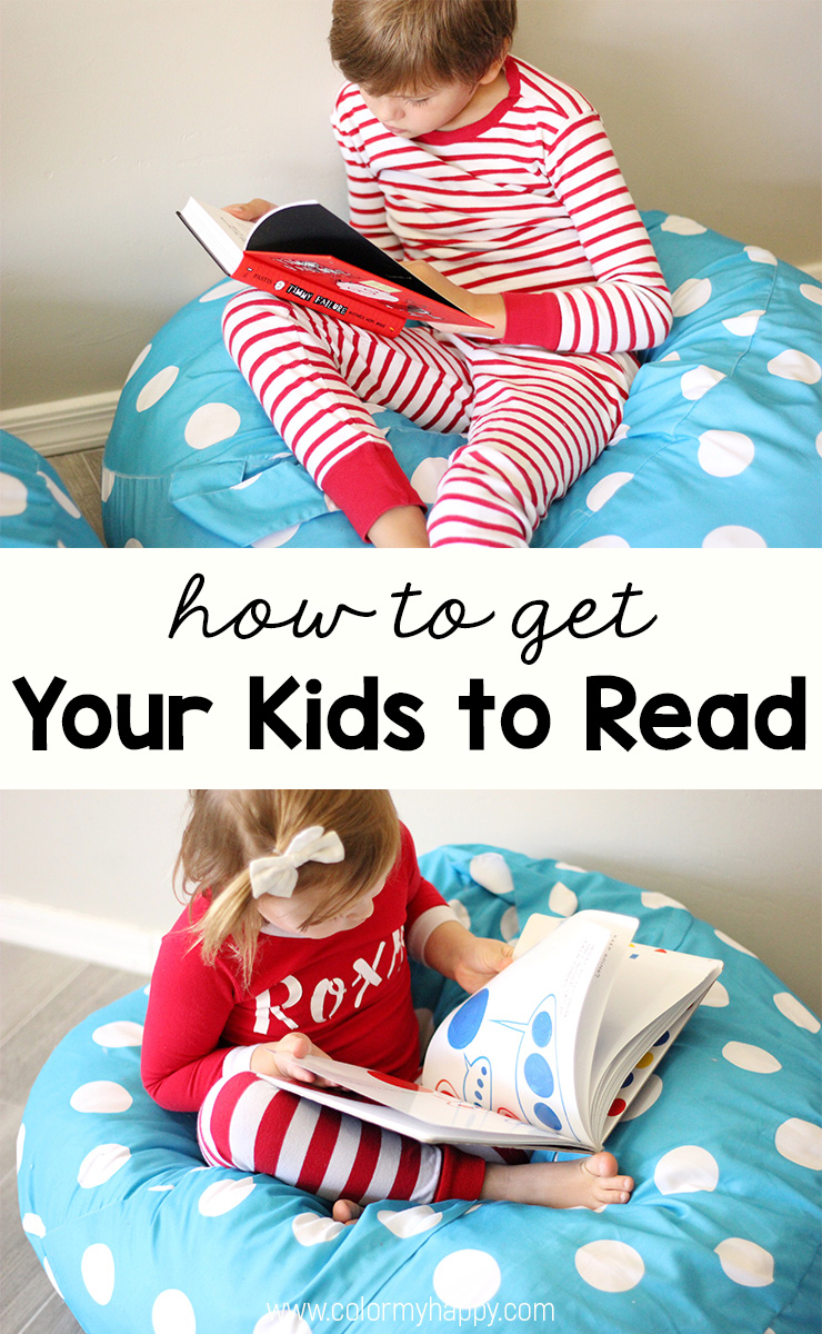 How to Get Kids to Read - Color My Happy
