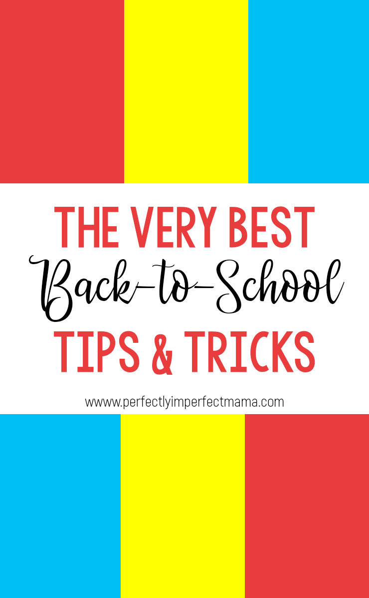 There are so many great back-to-school tips floating around the internet, and I've rounded up some of the best ones here in one place. Find tips for prepping for back-to-school, the first day, breakfasts, lunches, and systems & routines.