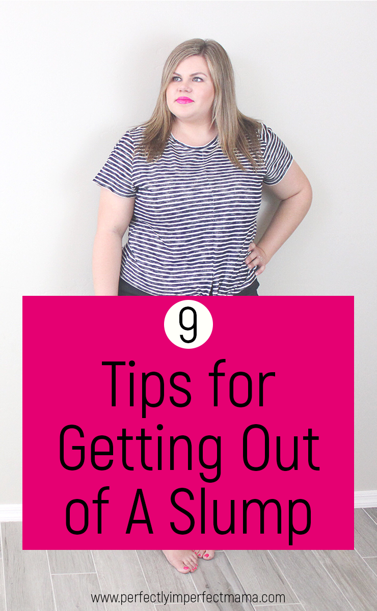 We all get in a bit of a slump sometimes, usually when we're stressed, lacking energy or motivation, or tired. Here are 9 tips to help you get going when you don't feel like doing anything at all.