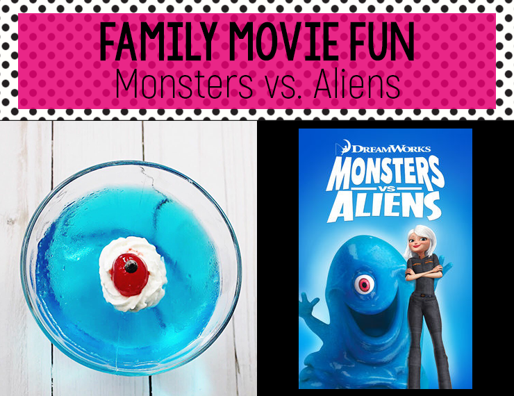 Monsters vs. Aliens is a fun family movie, and what better way to watch it than with some easy, yummy B.O.B. jello! Full instructions and printable included!