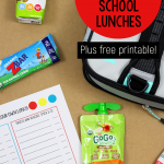 Oh, the dreaded lunchbox scenario! Lunch has to be packed every morning, Monday-Friday, in time for school. With back-to-school just around the corner, I brainstormed how to make packing lunches as simple as possible, so my kids can help make their own lunches. Today we're sharing our new system--along with a free downloadable Choose Your Own Lunch printable.