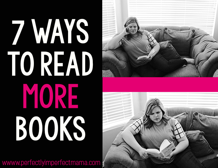 I'm usually an avid reader, but lately, my monthly book count has been much lower than usual. In an effort to read 50 books this year, I revisited my top tips for making reading a part of my everyday life. If you want to read more books, check out these 7 tips! #read #books