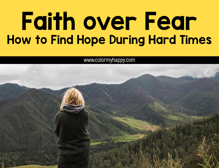 Trials are a part of our lives. But what do we do when life gets so tough we're not sure we can keep going? Learn how to find hope during hard times with these five tips for putting faith over fear during trials.