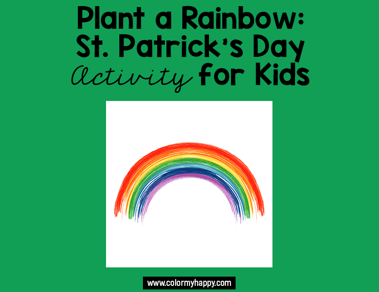 Spring lends itself well to fun and colorful hands-on project for kids. This simple rainbow activity for kids helps teach the message of hope that rainbows convey. Read on to see how your kids can plant a rainbow and learn that no matter what life throws at us, there will always be some spark of happiness waiting on the other side.