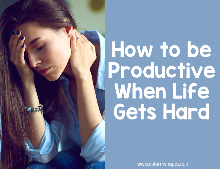When we go through hard things, it can be extremely difficult to take care of ourselves and fulfill our responsibilities. The problem is, our responsibilities don't go away just because life gets hard. Here are seven tips for how to be productive during hard times.