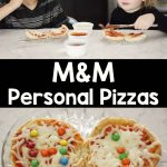 M&M Pizza from Princess Diaries