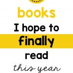 Books to finally read this year