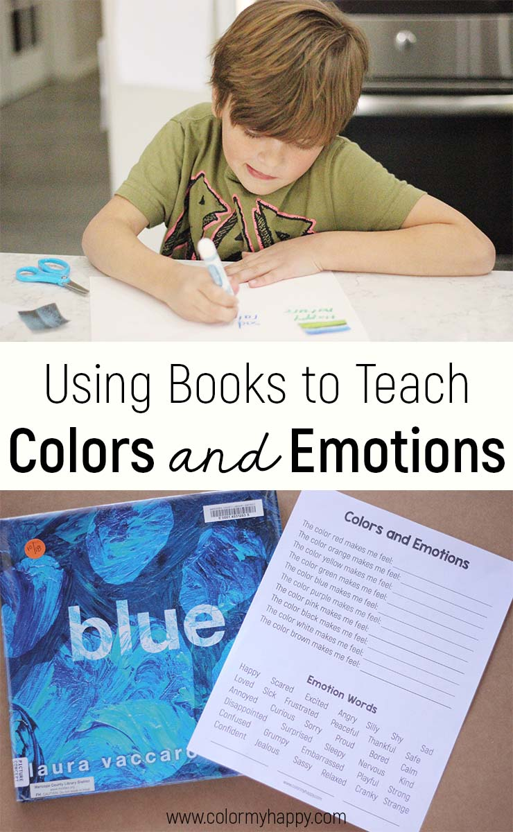 using books to teach colors and emotions