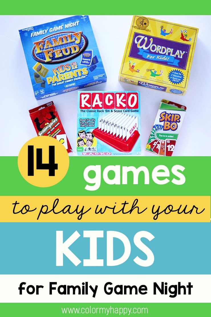 games for family night