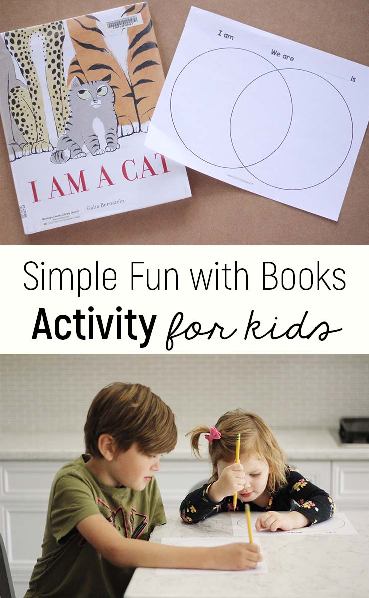 Book activity for kids