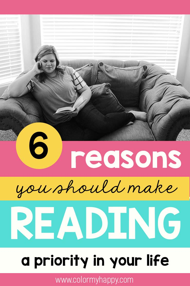 reasons to make reading a priority