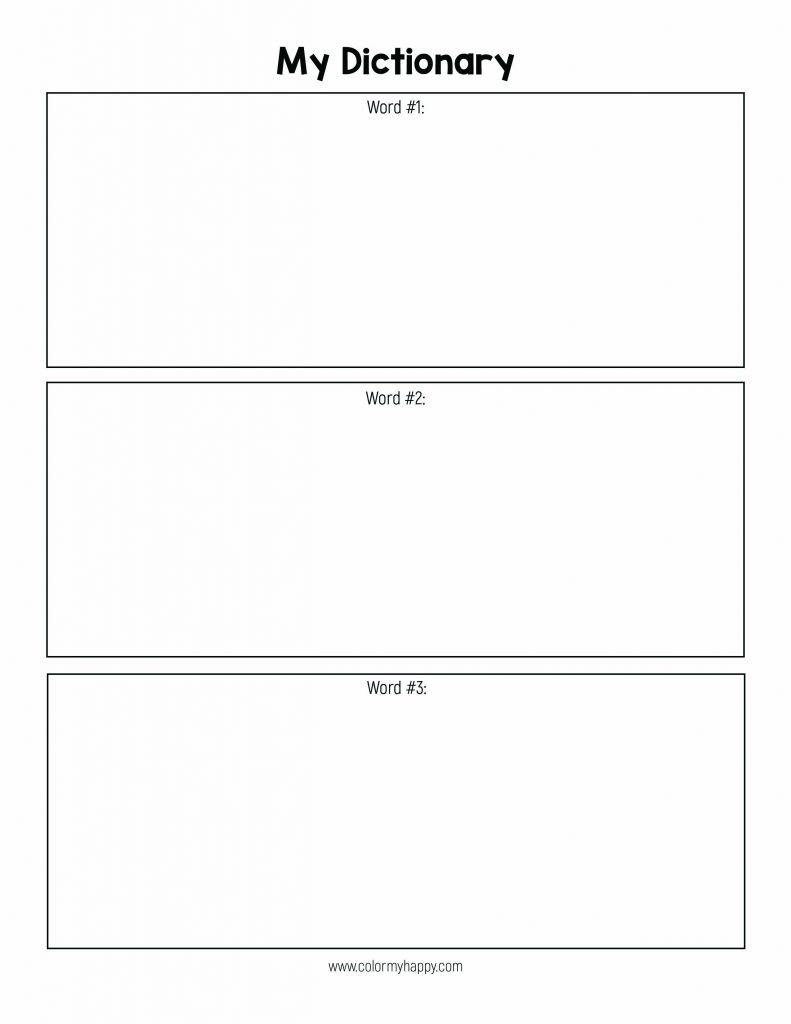 A printable activity sheet for the book Frindle